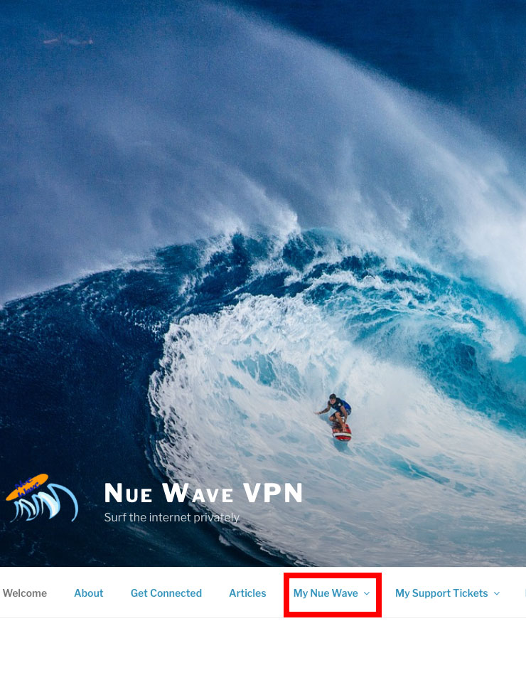 Mac VPN Install - Select My Nue Wave